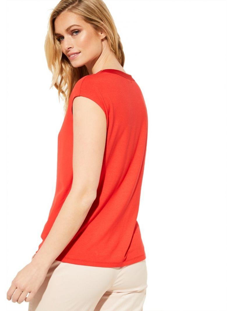 Casual Stofmix Shirt - Rood