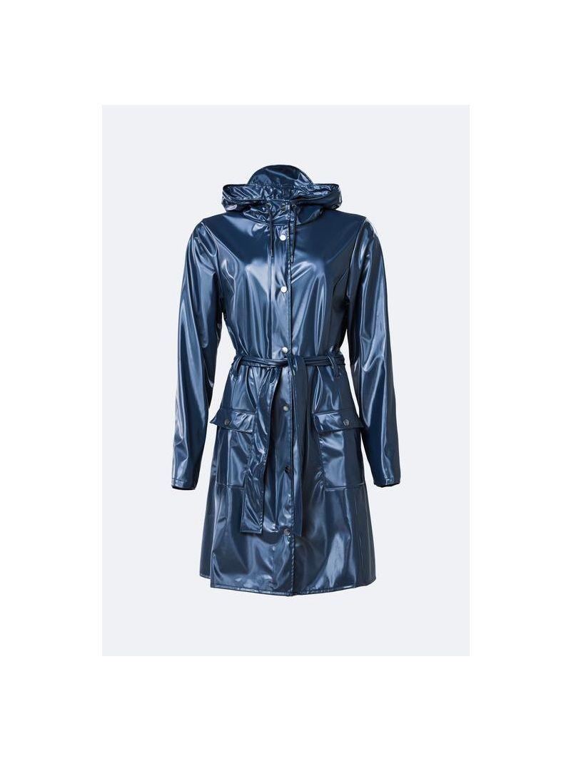 Regenjas Getailleerd - Blauw Glans