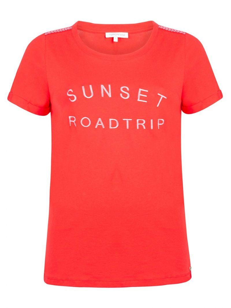 Tshirt km Sunset