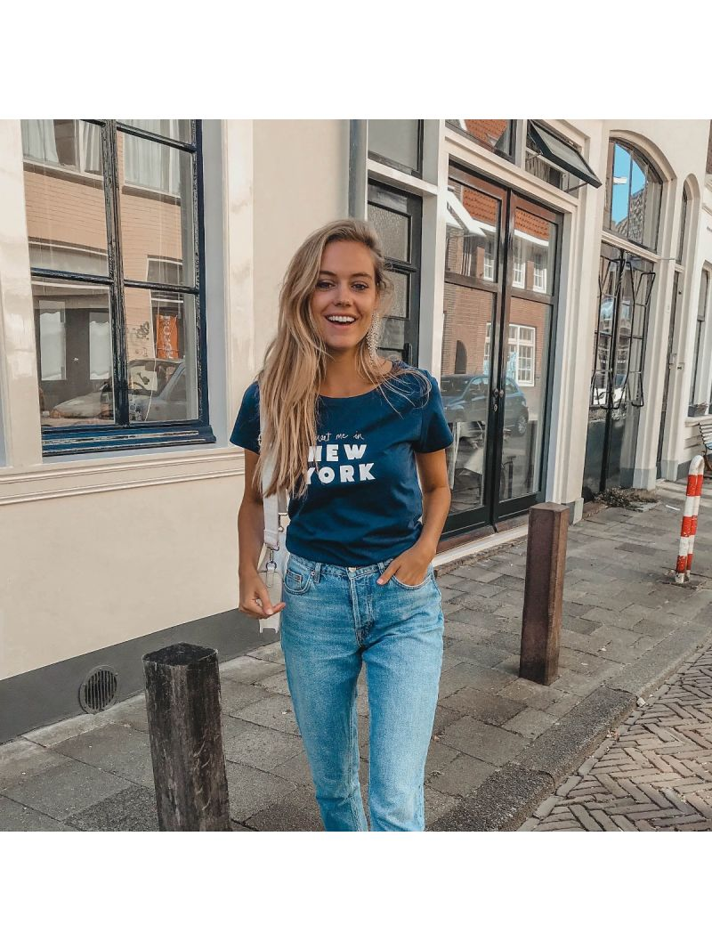 T-Shirt New York - Navy