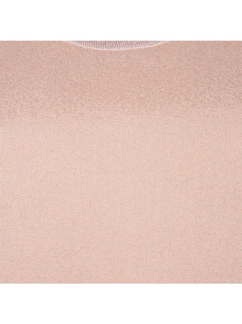 Glossy Shirt met Korte Mouw - Roze