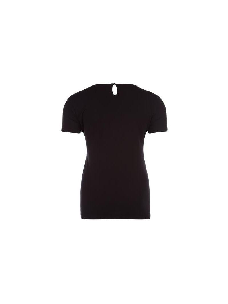 T-Shirt met Hartjes - Zwart
