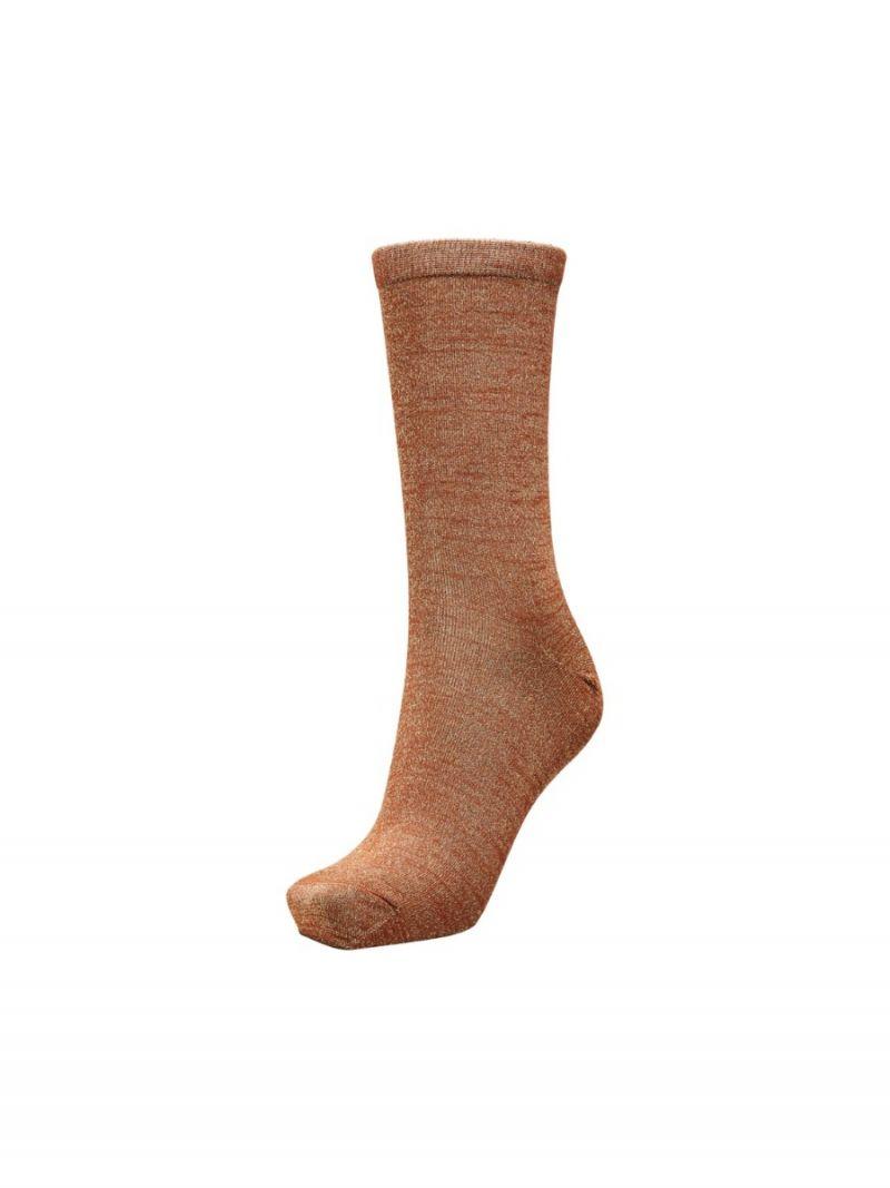 Sokken Glossy - Brons