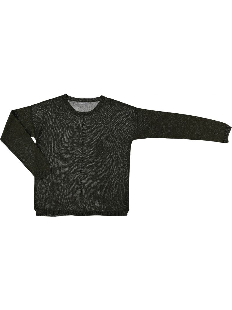 Lurex Pullover Khaki
