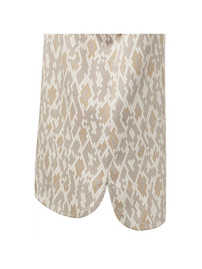 Modal Shirt met Slangenprint - Zand