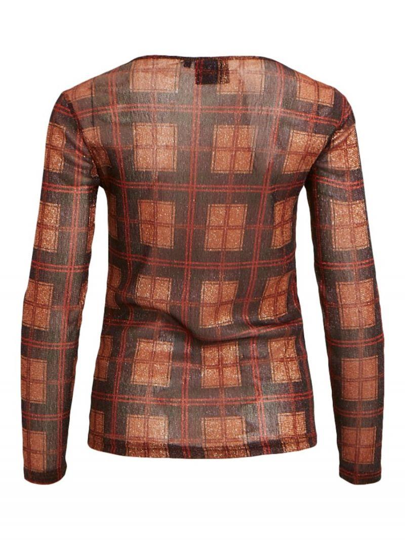 Geruit Shirt - Donker Rood