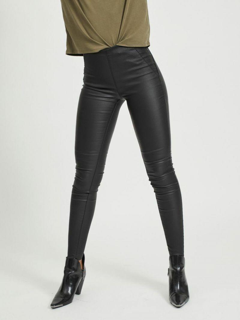 Belle Coated Legging - Zwart