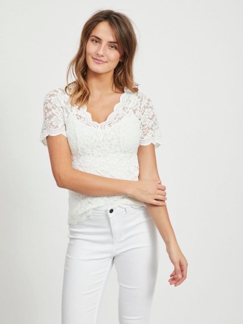 Rosa Kanten Shirt - Off White