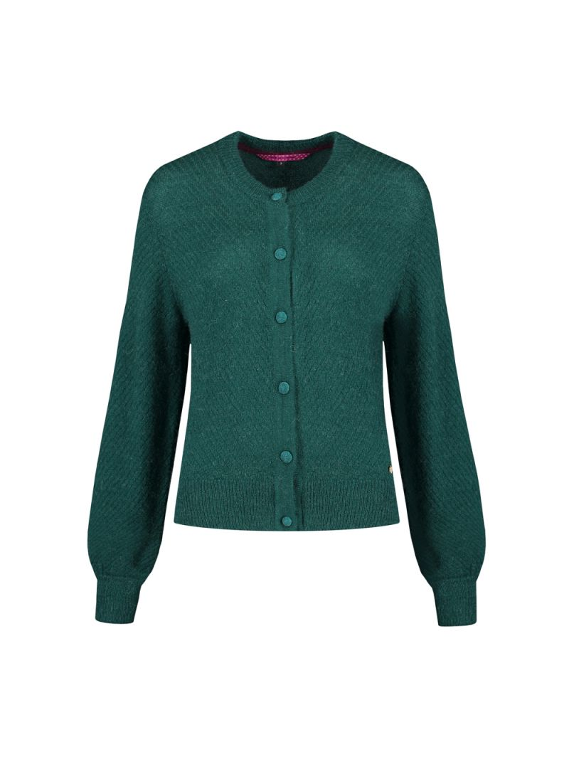 SP5997 Vest Perfect Knit Green