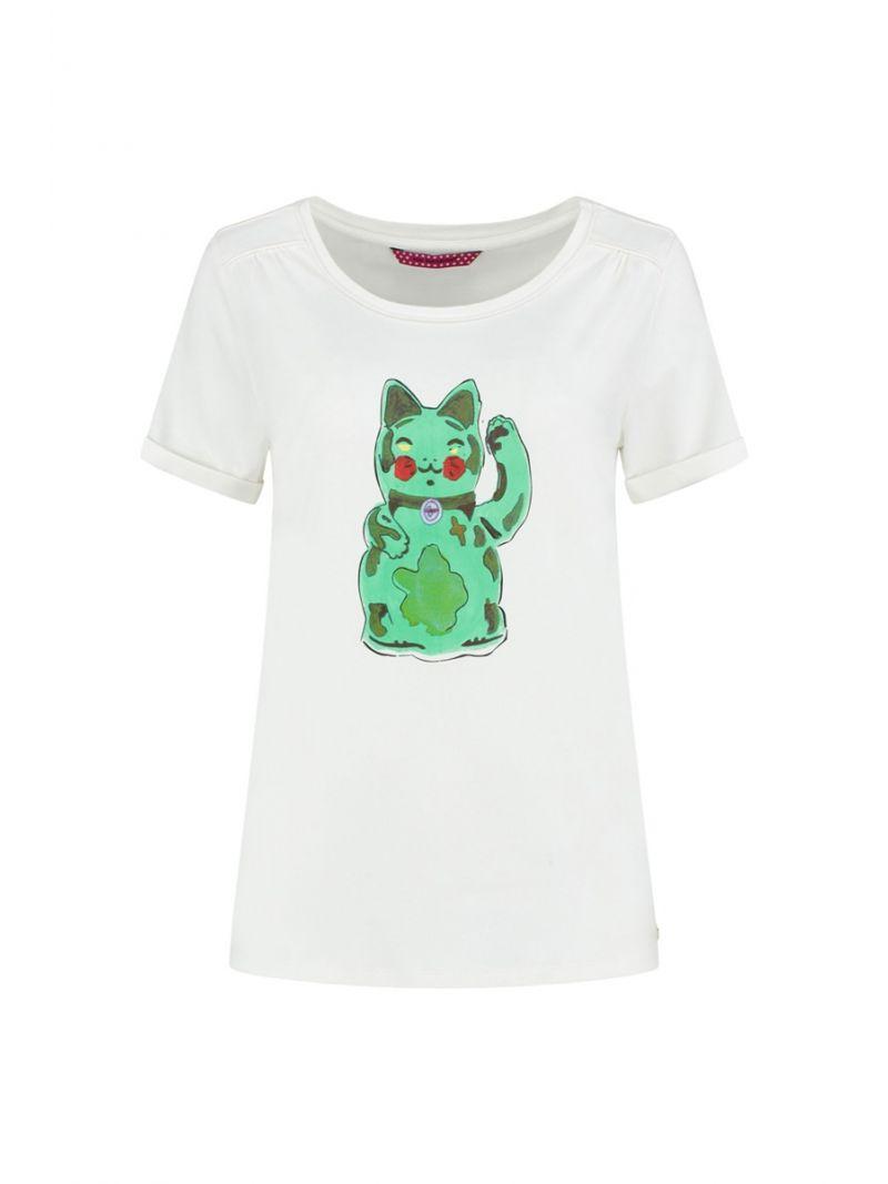 SP6185 T-Shirt Maneki Blush - Wit
