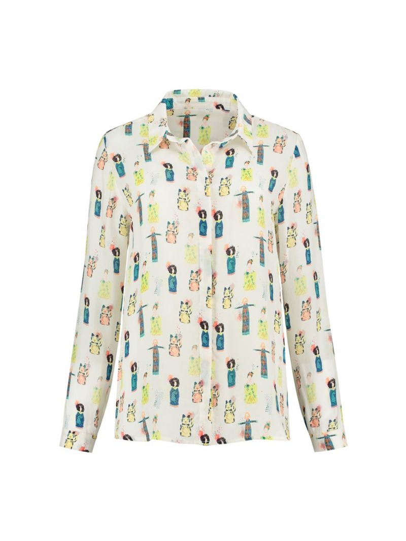 SP6201 Blouse Lucky Charms - Ecru