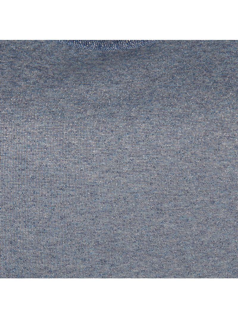 Glossy Shirt met Korte Mouw - Licht Blauw