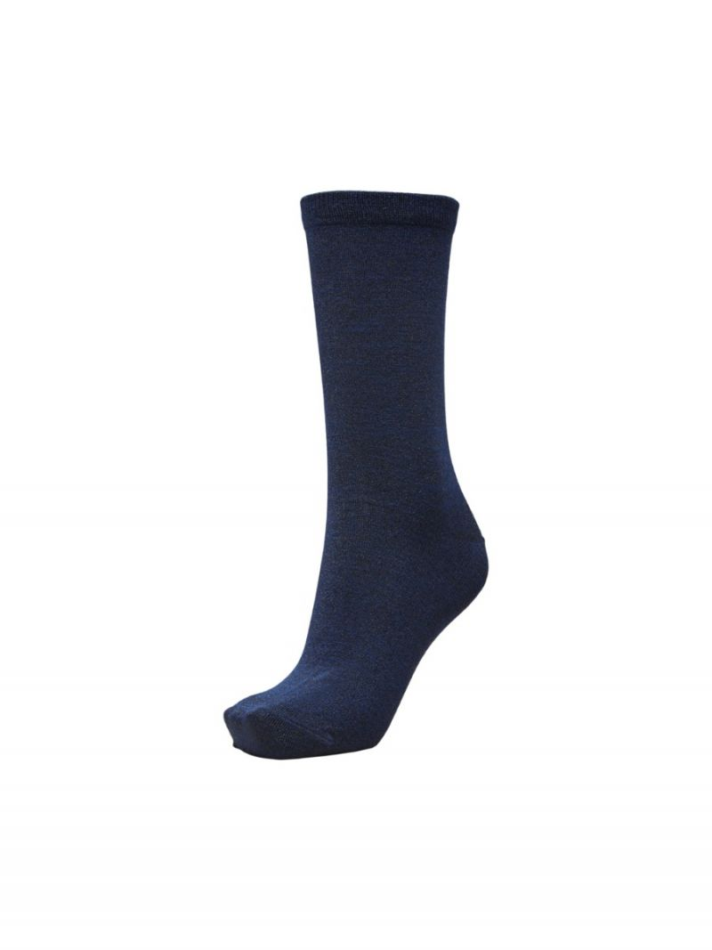 Sokken met Glitter - Donker Blauw
