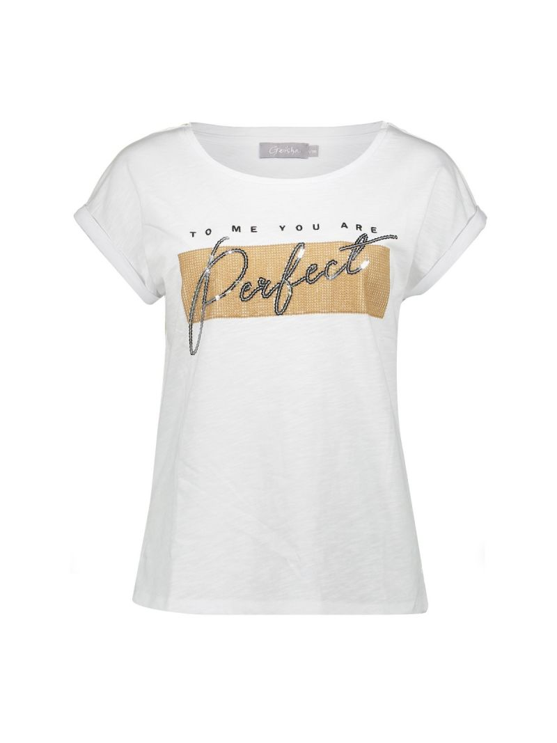 02353 T-Shirt Perfect - Wit