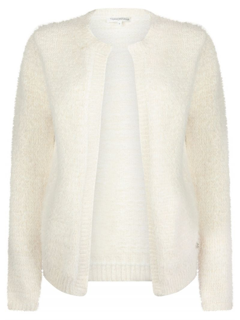 Chenille Vest - Off White