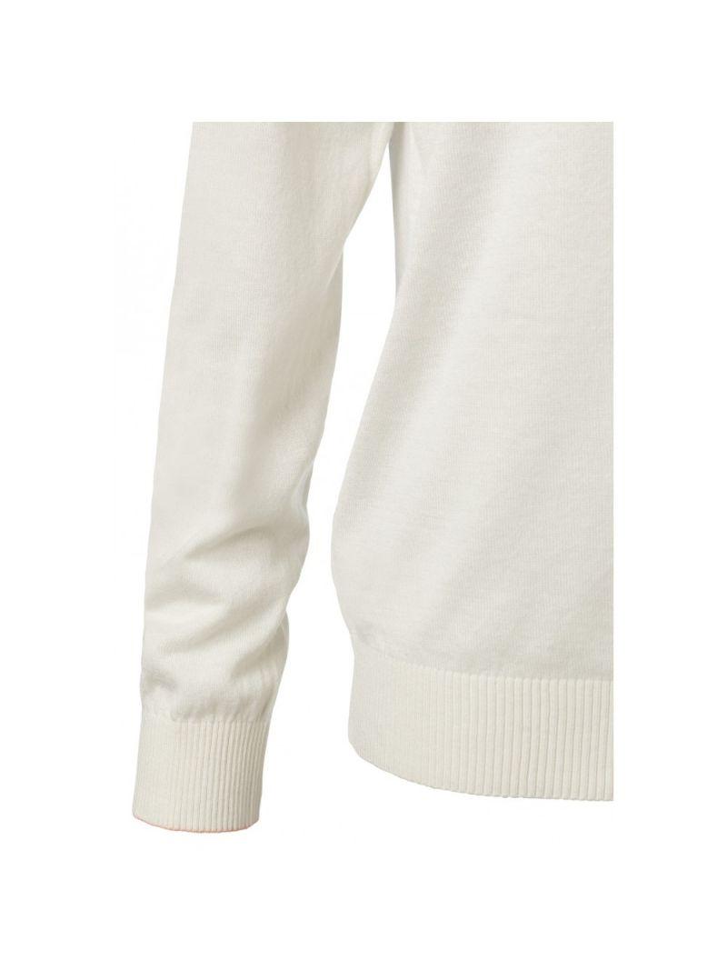 V-Hals Pullover Fijnbrei - Off White