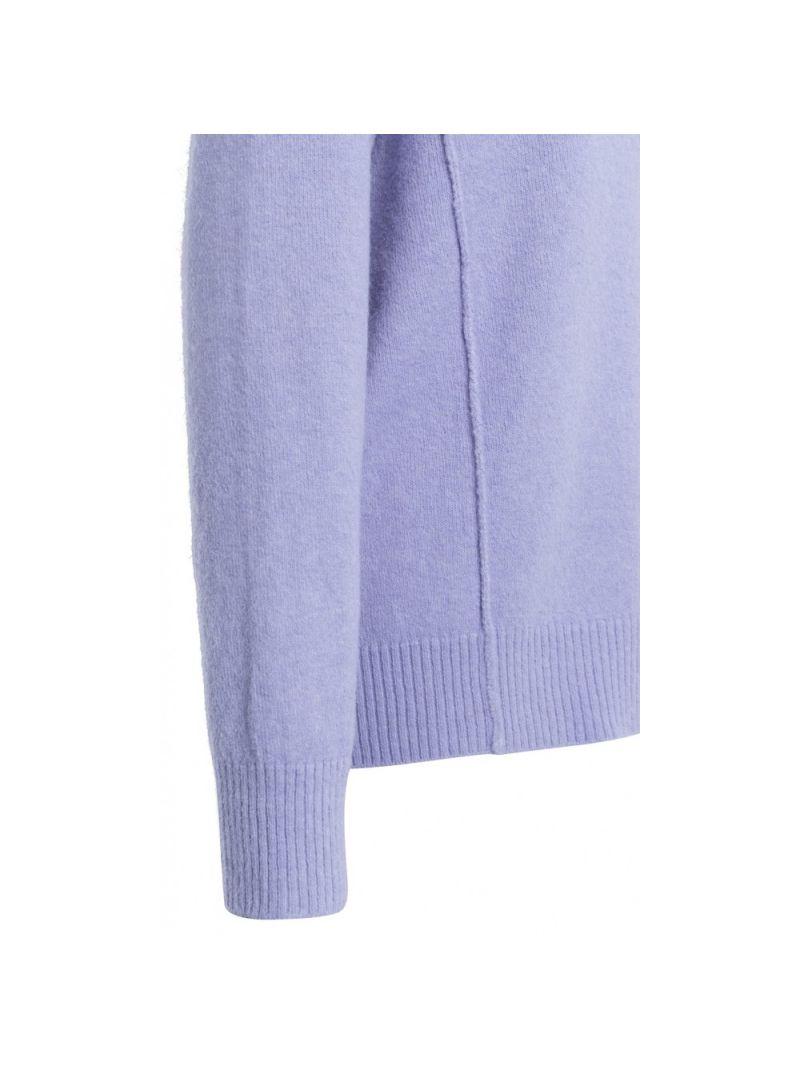 Pullover met Seamlines - Lila