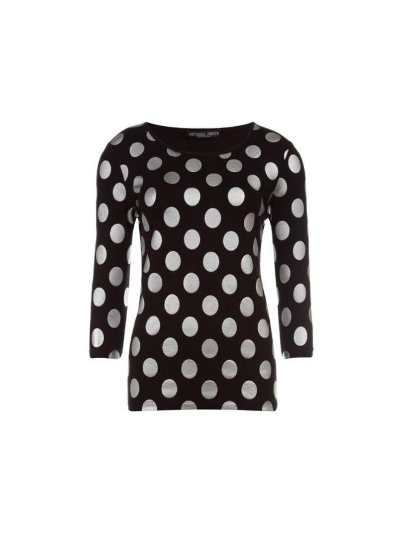 Fancy Top Dots - Zwart