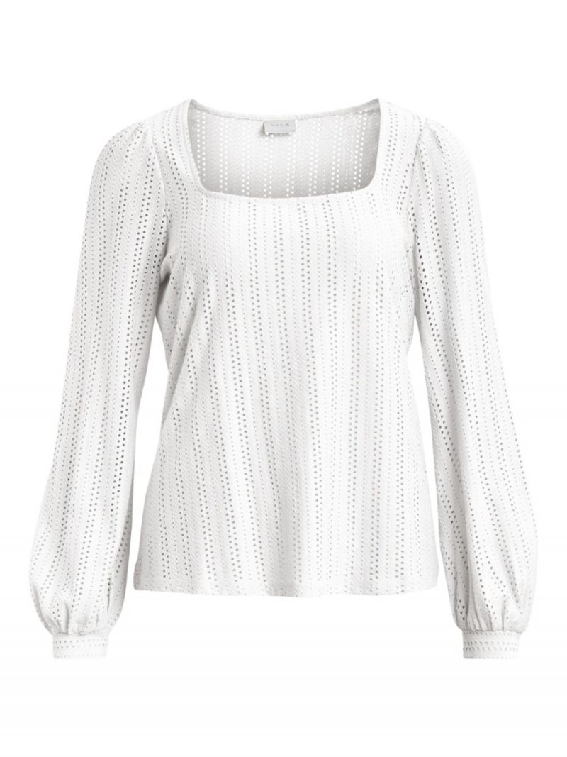 Vipiline Ajour Top - Off White