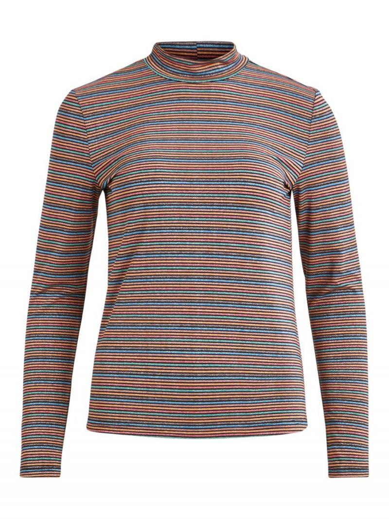 Shirt Glossy met Strepen