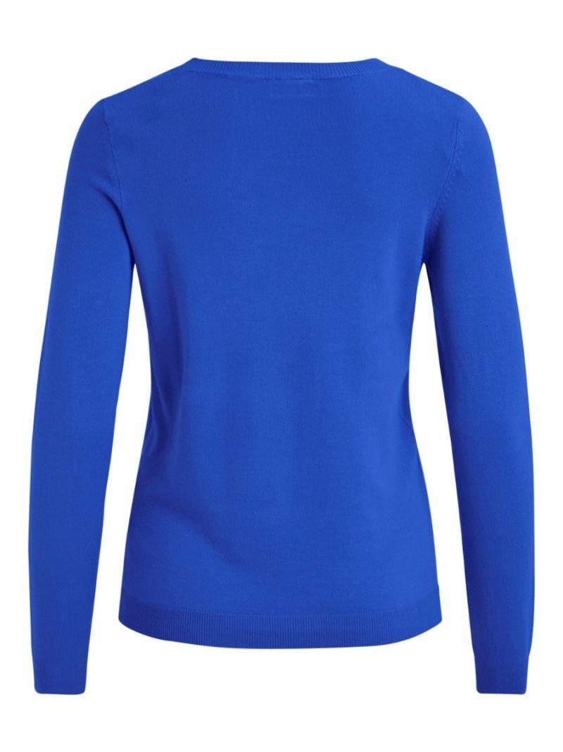 Pullover met Ronde Hals - Kobalt