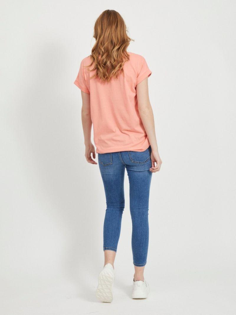 Dreamers Basic T-Shirt - Perzik