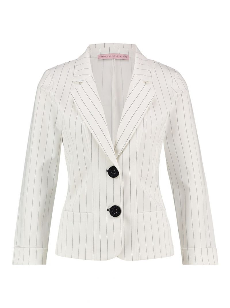 Travel Blazer- Pinstripe