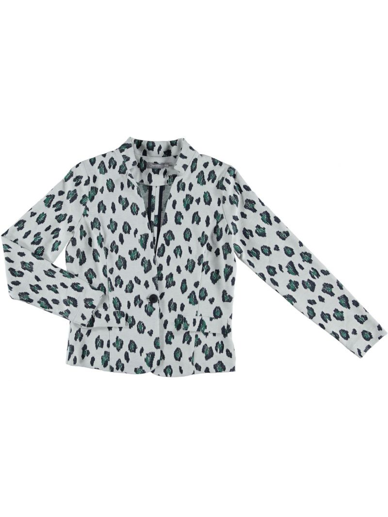 Stretch Blazer-Animal